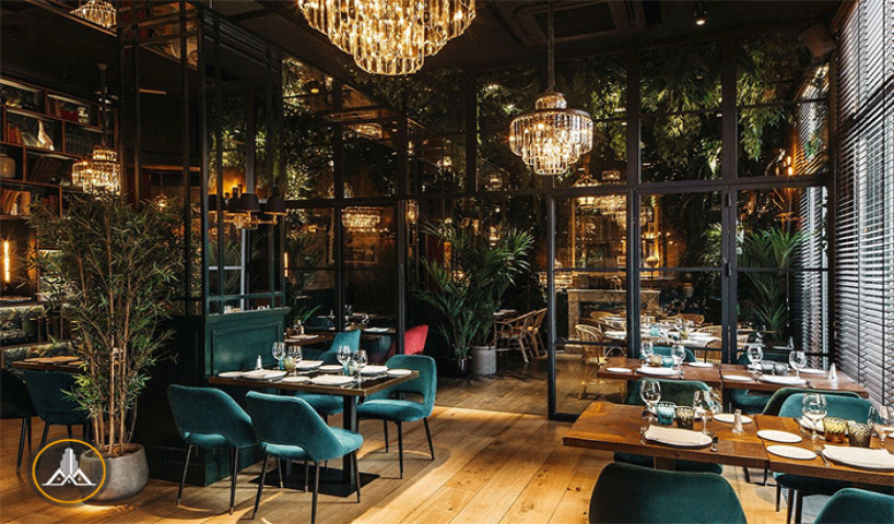 نکات ساده همراه با ایده هایی که طراحی رستوران را جذاب میکنند!
