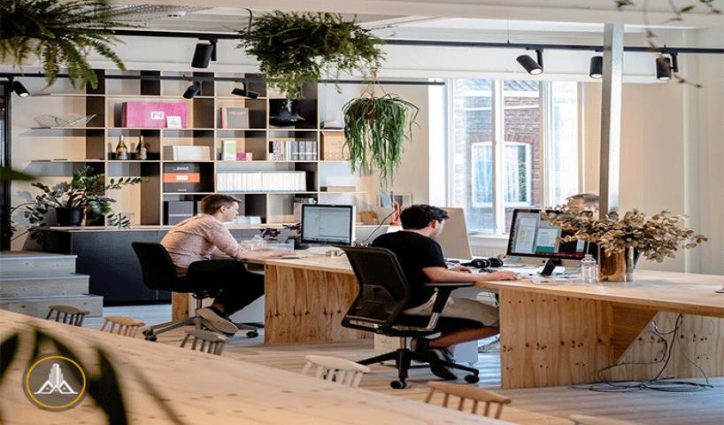 چگونگی طراحی دفتر کار برای داشتن محیطی دوستانه!