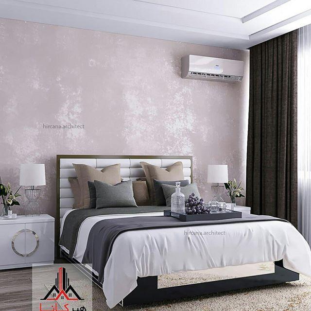 طراحی اتاق خواب مدرن پروژه آنلاین آقای قهرمانی