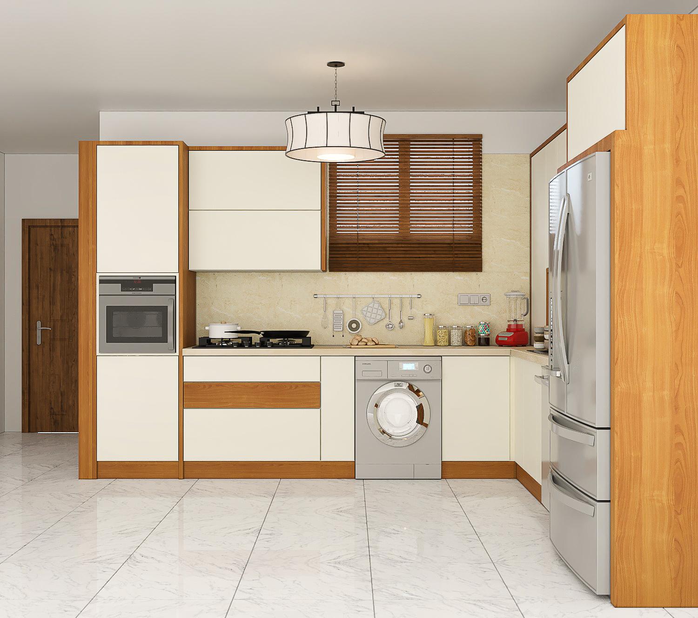 طراحی آشپزخانه مدرن پروژه آقای مرئشی